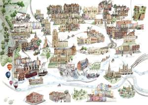 Laura Hallett - Bristol Map