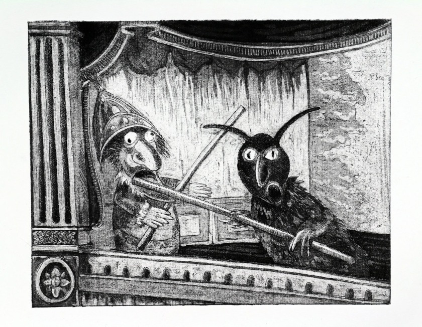 Puppet etching02