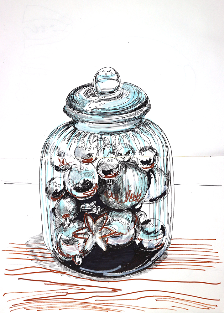 Baubles in a jar adjusted
