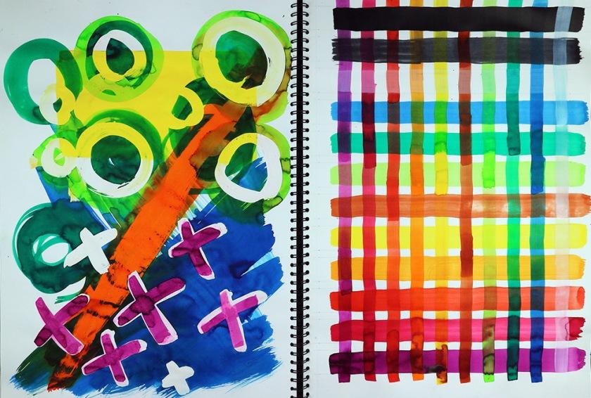 Investigating process sketchbook02