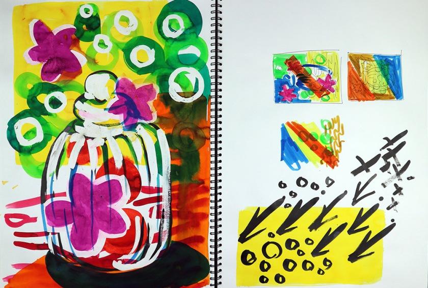 Investigating process sketchbook03