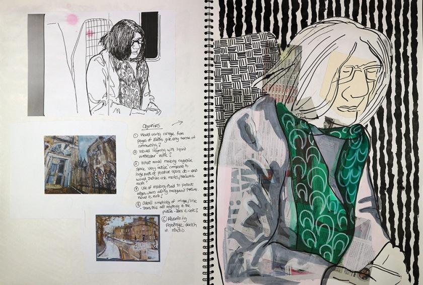 Investigating process sketchbook05