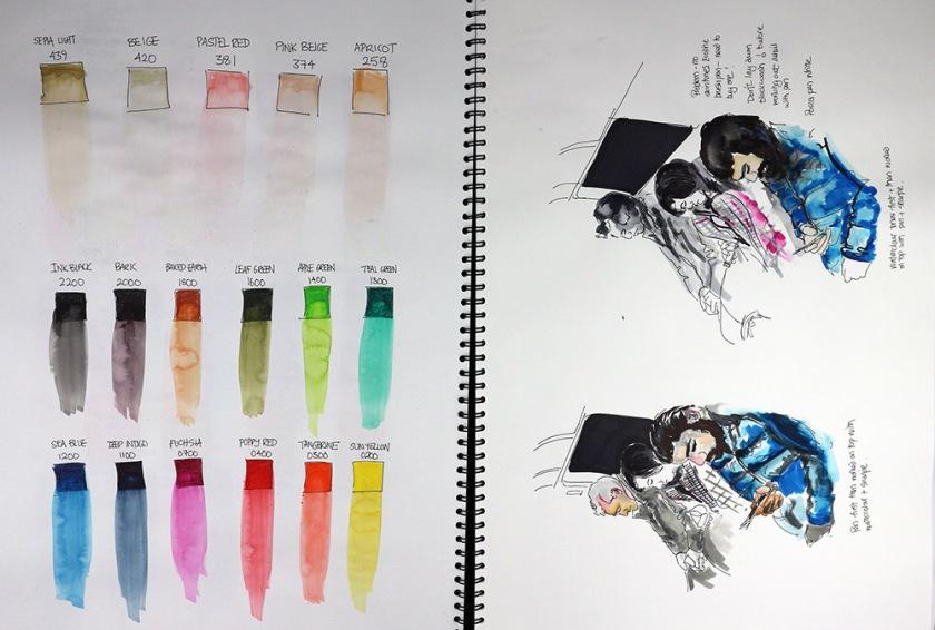 Investigating process sketchbook08