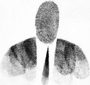 Saul Steinberg, Passport photo 1953