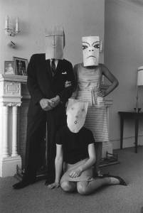 Saul Steinberg, Small Family Group, Chelsea Hotel