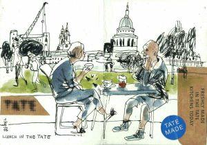 Marina Grechanik - Lunch in the Tate