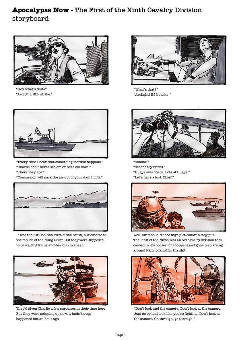 Storyboard page 01