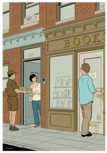 Adrian Tomine - Wonderful New York