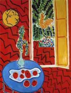 Matisse-red-Interior