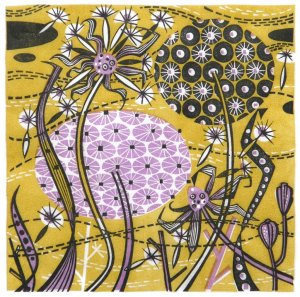 Angie Lewin Spey Seedheads