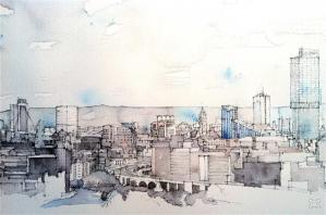 Manchester Skyline - Simone Ridyard