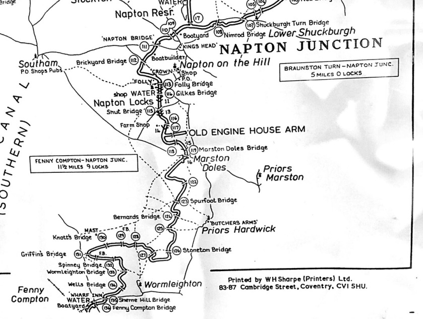 Oxford Canal map