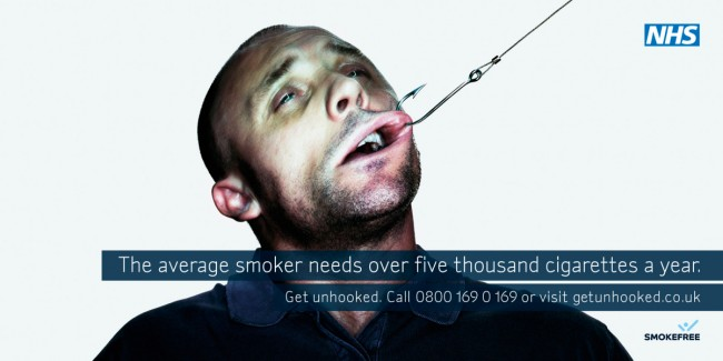 NHS anti smoking poster