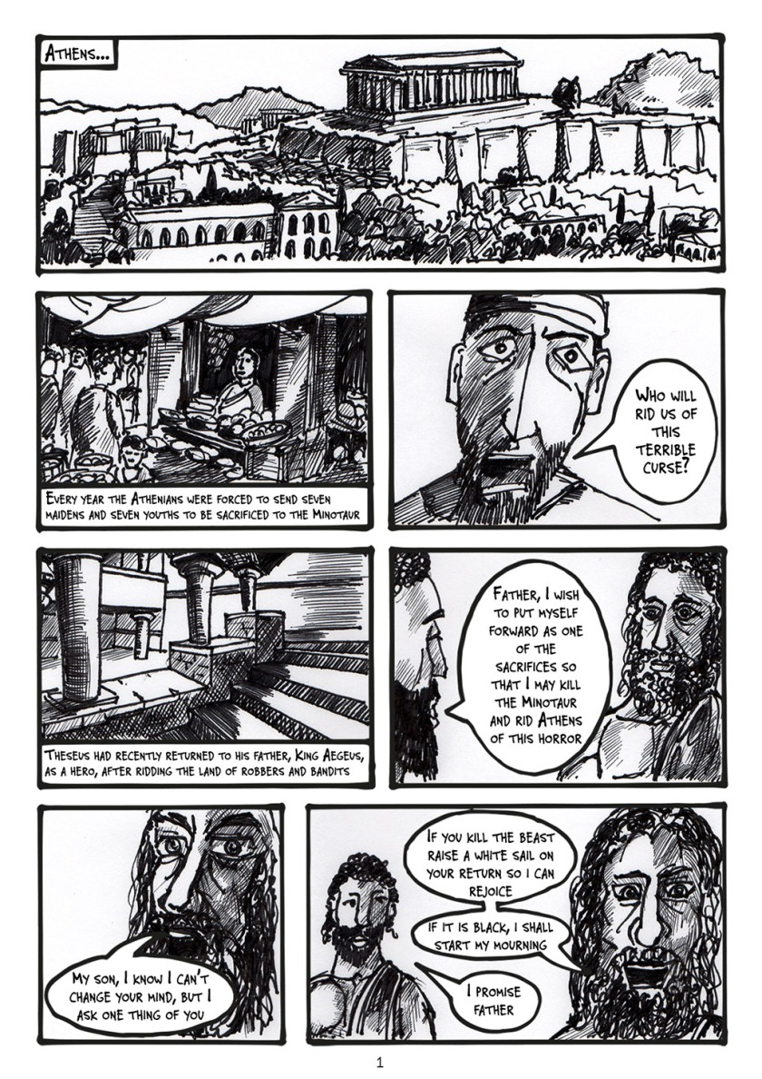 Theseus finished artwork page01