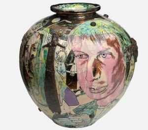 Grayson Perry - Mad kid's bedroom wall pot