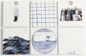 Laura Carlin - London Life Tiles (Commuting)