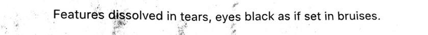 Tears text