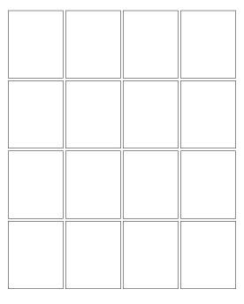 16 panel grid