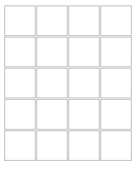 20 panel grid