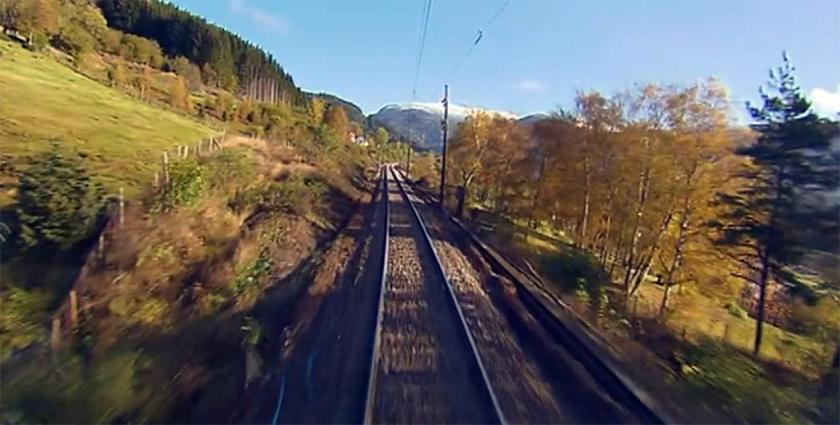 NRK Bergensbanen minutt for minutt