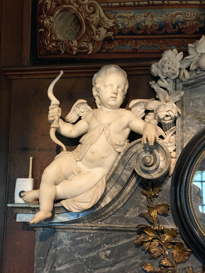 Cherub reference for Hampton Court Palace